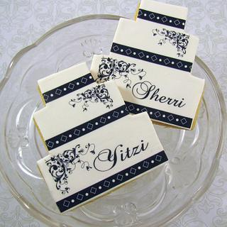 Wedding Cake Cookies - Cake by Cheryl
