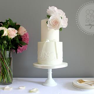 Pretty Pastel Wedding Cake