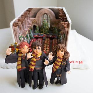 Welcome to my Hogwarts ~Bake A Christmas Wish~