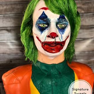 Joker Cake -Joaquin Phoenix version