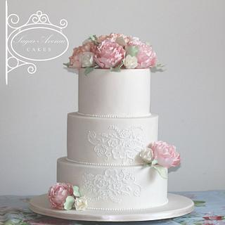 Pastel colours wedding