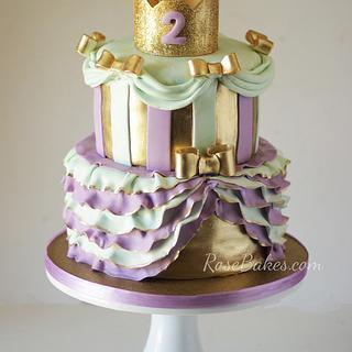 Tutus & Tiaras Princess Cake