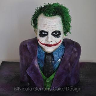 Heath Ledger's 'Joker' cake