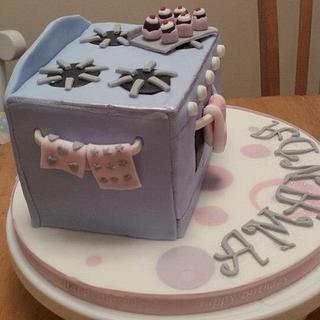 Cooker style cake - domestic goddess!