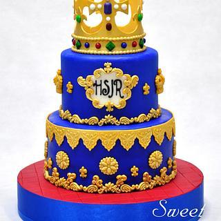 Royalty Cake - Cake by Sweet Success