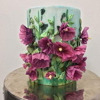 The1 Cake Collab Embroidery Inspired Wafer Paper Florals