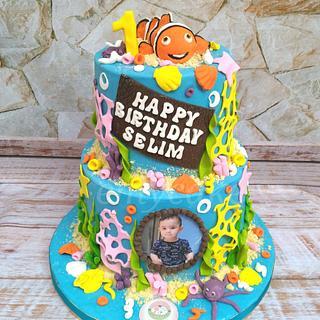 Nemo fish cake - Cake by emycakesdamnhor