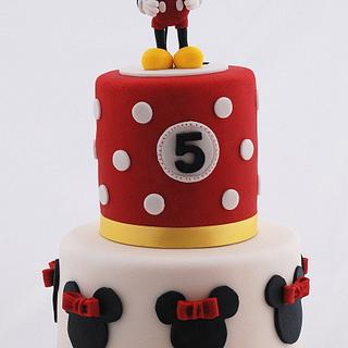 Mickey Mouse - Cake by Marie
