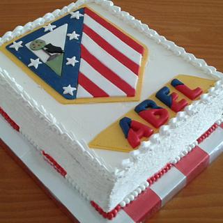 ATLETICO MADRID COAT CAKE