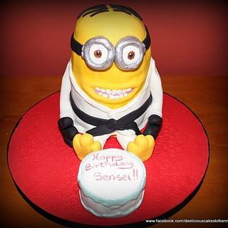 Minion - Cake by Deelicious Cakes