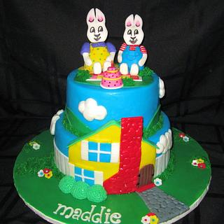 Max and Ruby Cake - Cake by Cuteology Cakes