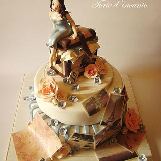 Around the world - Cake by Torte d'incanto