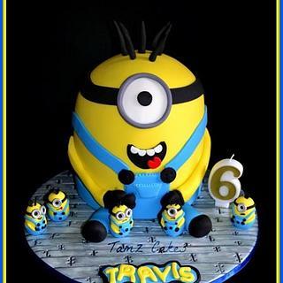 Minion Cake - Cake by Tammy