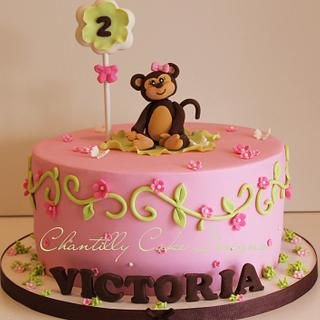 It's a monkey party! - Cake by Chantilly Cake Designs - Beth Aguiar