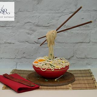 Noodle Soup Cake