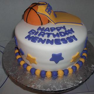Laker Cake!!!!