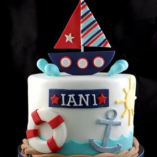Nautical Cake for Ian