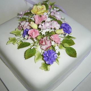 Elaines Leaving Cake