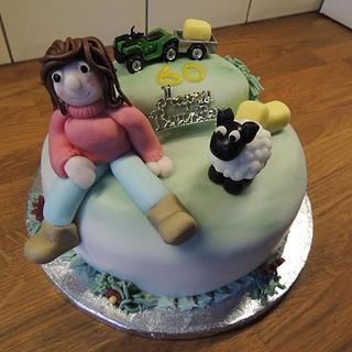 mrs farmer - Cake by Denise1968