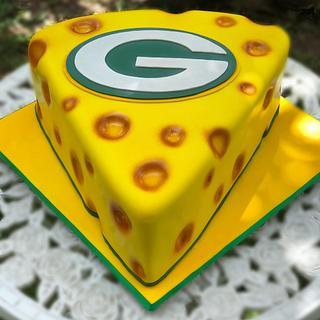 Greenbay Packers Groomsman Cake