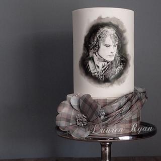Outlander - Jamie Fraser - Cake by LJay -Sugar Goblin Cakes