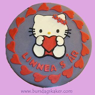 Hello Kitty - Cake by Janne