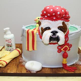 NCACS 2018 - Year of the Dog - Cake by Kim