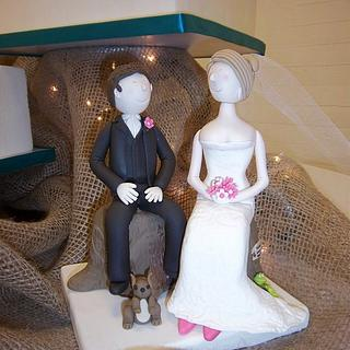 Fondant Bride & Groom
