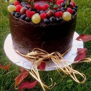 chocolate autumn - Cake by Jiřina Matějková