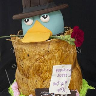 Perry the Platypus AGENT P - Cake by Martha Chirinos Teruel