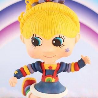 Back to the 80's Sugar Love - Rainbow Brite - Cake by The Cake Barn