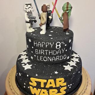 STAR WARS LEGO - Cake by silviacucinelli