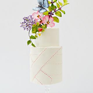 Bandaged Cake- #TheButterflyProject
