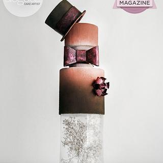 """""""Velvet Groom"""" for American Cake Decorating"""
