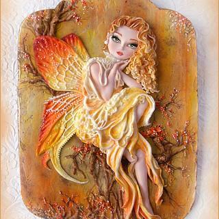 November Fairy cookie