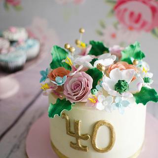 Flowery birthday