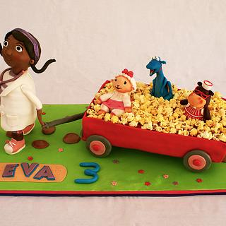 Doc Mcstuffins and Friends - Cake by Lia Russo