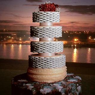 Statuesque in Chic Stylized Weave - Cake by The Beverley Way Collection, Beverley Way Designs USA