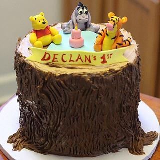 Winnie the Pooh Cake - Cake by 6 Bittersweets (Xiaolu)