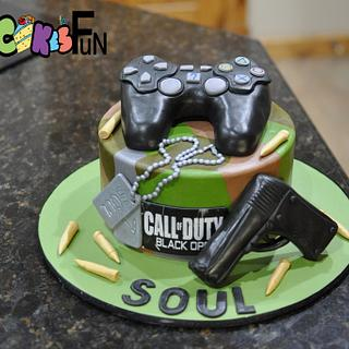 Call of Duty Cake - Cake by Cakes For Fun