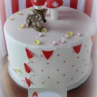 Woodland Forest Cake