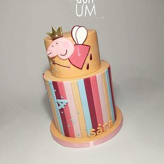 Peppa pig for the smallest - Cake by dortUM