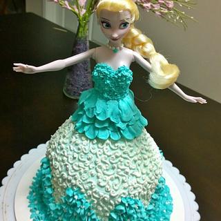 frozen elsa  - Cake by Niyati
