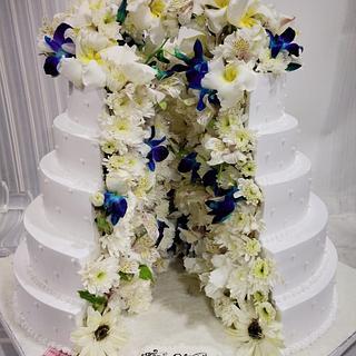 Split cake in Cream