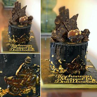 black cake-motorcycle