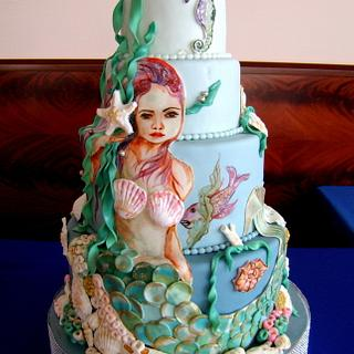 Little Mermaid - Cake by Mucchio di Bella