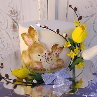 Easter cake - Bunny