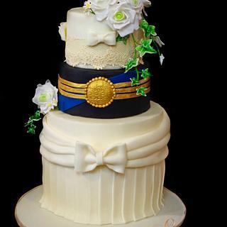 Kissing  Frog (CPCs Royal Wedding cake Collaboration)
