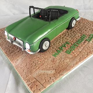 Mgb - Cake by jen lofthouse