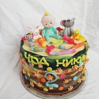 Baby cake - Cake by Bibi